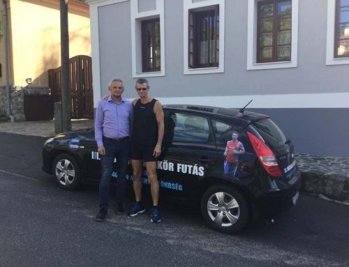 Zaol – Újra a Kékkörön: 2557 km-t fut le Szarvas Mátyás