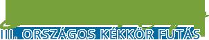 Szarvas Mátyás – Országos Kékkör Futás Logo